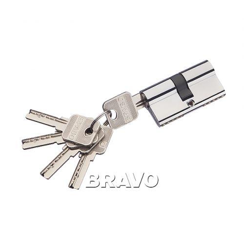 Цилиндр Bravo AЕK-60-30/30 C Хром