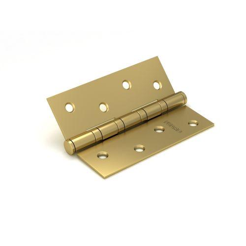 Петля универсальная Fuaro (Фуаро) 4BB/BL 100x75x2,5 SB (мат. золото) БЛИСТЕР