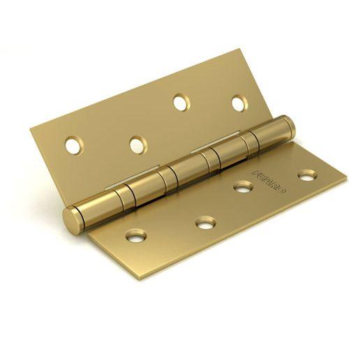 Петля универсальная Fuaro (Фуаро) 4BB/BL 125x75x2,5 SB (мат. золото) БЛИСТЕР