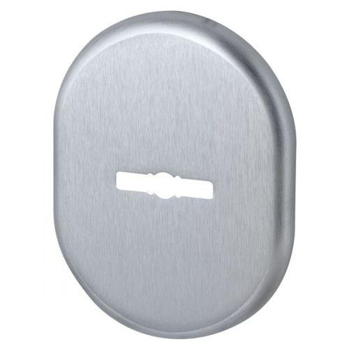Декоративная накладка Armadillo (Армадилло) на сувальдный замок PS-DEC (ATC Protector 1) SC-14 Матовый хром