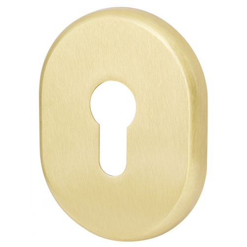 Декоративная накладка Armadillo (Армадилло) на цилиндр ET-DEC (ATC Protector 1) SG-1 Матовое золото