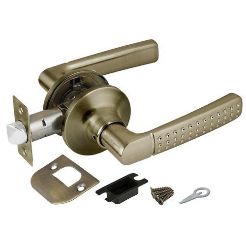 Ручка защелка Punto (Пунто) 6026 AB-P (без фик.) бронза