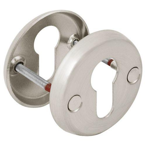 Декоративная накладка Fuaro (Фуаро) ESC-С-001-SN цилиндровая (матовый никель)