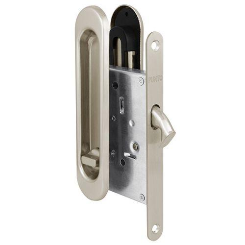 Защелка Punto (Пунто) с ручками для раздвижных дверей Soft LINE SL-011 SN