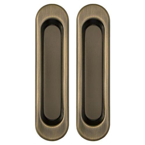 Ручки Punto (Пунто) для раздвижных дверей Soft LINE SL-010 AB