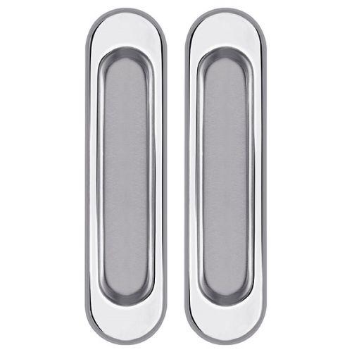 Ручки Punto (Пунто) для раздвижных дверей Soft LINE SL-010 CP