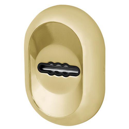 Накладка под Fuaro (Фуаро) сувальдный ключ ESC-13S с автоматическими шторками GP-золото (2шт. в уп.,отгр. по 1 шт)