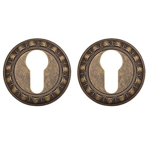 Накладка под Punto (Пунто) цилиндр ET MT OB-13 античная бронза