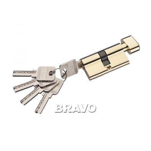 Цилиндр Bravo AЕF-60-30/30 G Золото