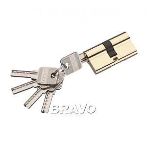 Цилиндр Bravo AЕK-60-30/30 G Золото