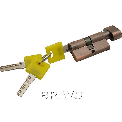 Цилиндр Bravo ZF-60-30/30  AC Медь