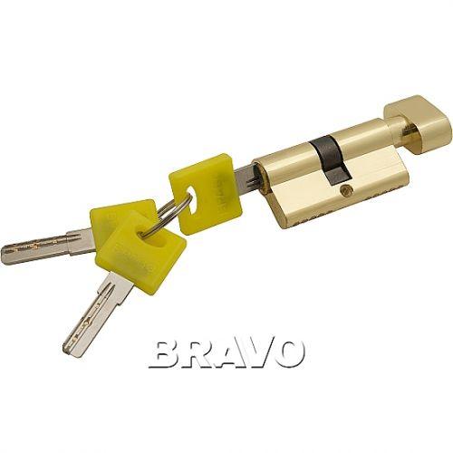 Цилиндр Bravo ZF-60-30/30  G Золото