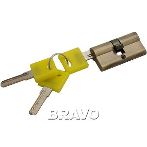 Цилиндр Bravo ZK-60-30/30  AB Бронза