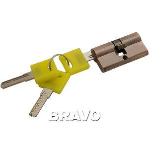 Цилиндр Bravo ZK-60-30/30  AC Медь