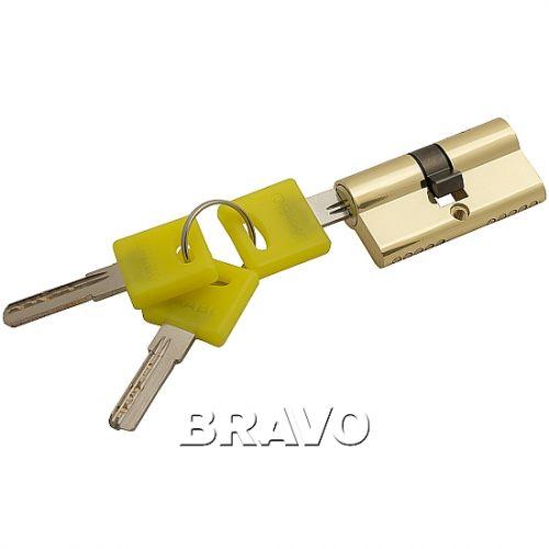 Цилиндр Bravo ZK-60-30/30  G Золото