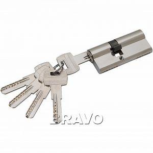 Цилиндр Ключ-ключ Apecs SM-70 NI Никель