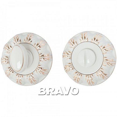 Bravo A/Z-3WC  WG БелЭмаль/Золото