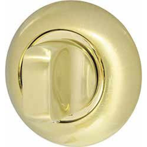 Ручка поворотная Armadillo (Армадилло) WC-BOLT BKW8-1SG/GP-4 матовое золото/золото, без отв.