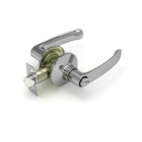 Ручка защелка Fuaro (Фуаро)  882 CP-B (хром) фик.