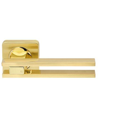 Ручка раздельная Armadillo (Армадилло) BRISTOL SQ006-21SG/GP-4 матовое золото/золото