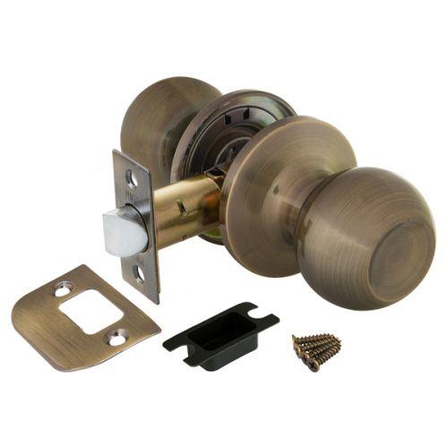 Ручка защелка Punto (Пунто) 6072 AB-P (без фик.) бронза
