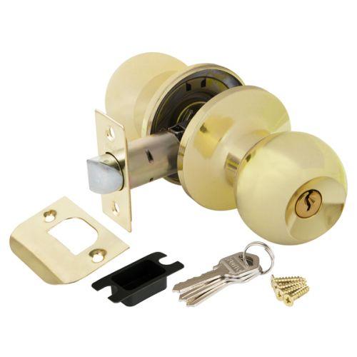 Ручка защелка Punto (Пунто) 6072 PB-E (кл./фик.) золото