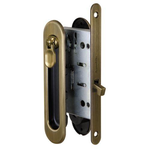 Набор Armadillo (Армадилло) для раздвижных дверей SH011-BK AB-7 Бронза