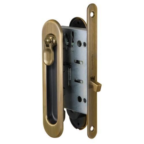 Набор Armadillo (Армадилло) для раздвижных дверей SH011-BK WAB-11 Матовая бронза