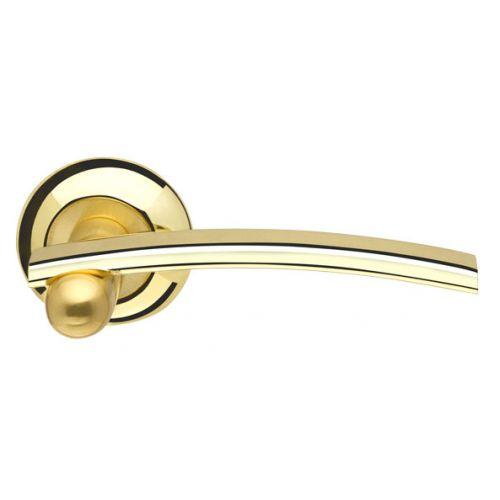 Ручка раздельная Armadillo (Армадилло) Mercury LD22-1GP/SG-5 золото/матовое золото