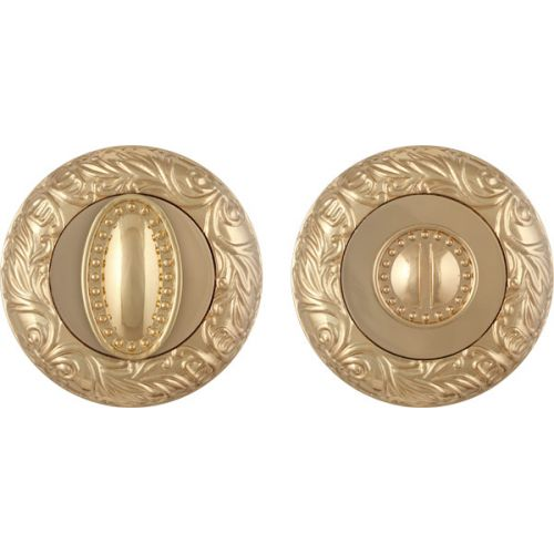 Ручка поворотная Fuaro (Фуаро) BK6 SM GOLD-24 золото 24К