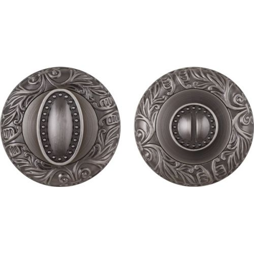 Ручка поворотная Fuaro (Фуаро) BK6 SM AS-3 античное серебро