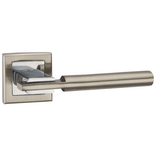 Ручка раздельная Punto (Пунто) CITY QL SN/CP-3 матовый никель/хром