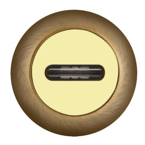 Накладка под Fuaro (Фуаро) сувальдный ключ SC RM AB/GP-7 (1 шт.)