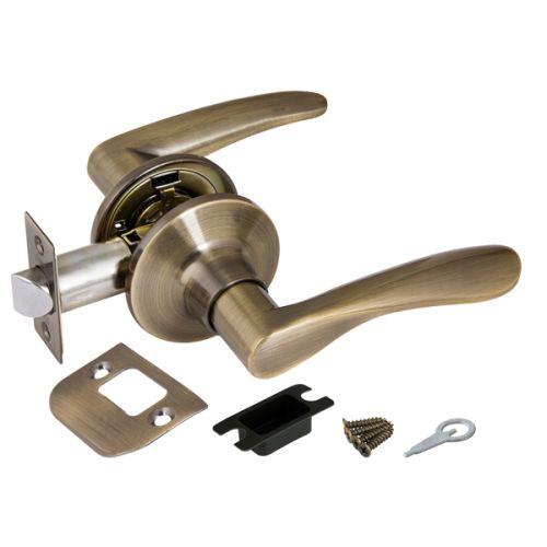 Ручка защелка Punto (Пунто) 6020 AB-P (без фик.) бронза