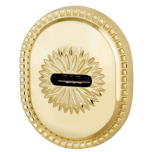 Декоративная накладка Armadillo (Армадилло) на сувальдный замок PS-DEC CL (ATC Protector 1) GP Золото