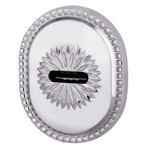 Декоративная накладка Armadillo (Армадилло) на сувальдный замок PS-DEC CL (ATC Protector 1) СР Хром