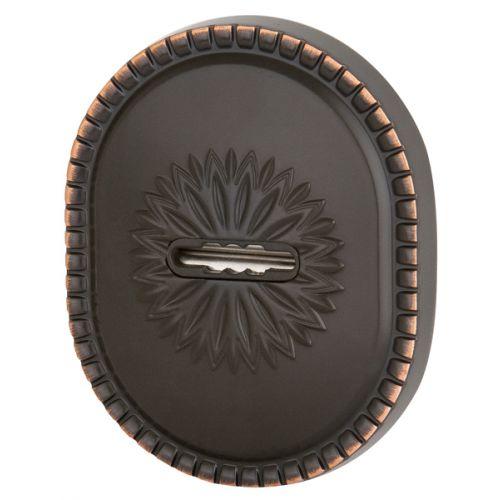 Декоративная накладка Armadillo (Армадилло) на сувальдный замок PS-DEC CL (ATC Protector 1) ABL-18 Темная медь
