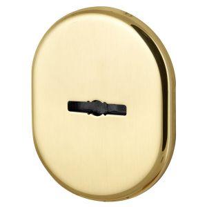 Декоративная накладка Armadillo (Армадилло) на сувальдный замок со шторкой PS-DEC CT (ATC Protector 1) GP-2 Золото