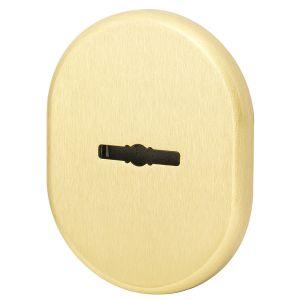 Декоративная накладка Armadillo (Армадилло) на сувальдный замок со шторкой PS-DEC CT (ATC Protector 1) SG-1 Матовое золото