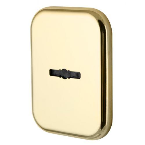 Декоратив. Квадратная Armadillo (Армадилло) накл. на сув. замок со шторкой PS-DEC SQ CT (ATC Protector 1) GP-2 Золото