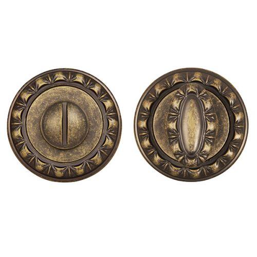 Ручка поворотная Punto (Пунто) BK6 MT OB-13 античная бронза