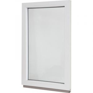 Окно ПВХ одностворчатое 100х60 см глухое