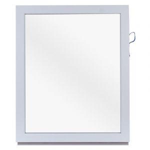 Окно ПВХ одностворчатое 100х80 см глухое