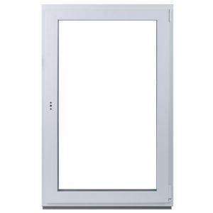 Окно ПВХ одностворчатое 144х87 см поворотно-откидное правое
