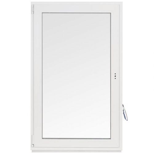 Окно ПВХ одностворчатое 144х87 см поворотно-откидное левое