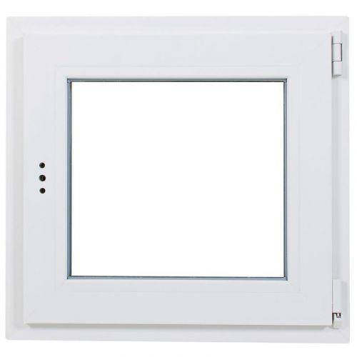 Окно ПВХ одностворчатое 60х60 см поворотно-откидное правое